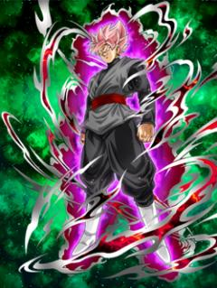 Exalted Ideals Goku Black (Super Saiyan Ros%C3%A9)