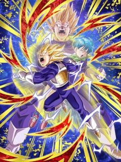 [Outburst of Emotions] Super Saiyan 2 Vegeta and Bulma