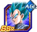 Ever-Evolving Legend Super Saiyan God SS Vegeta