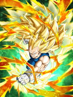 New Evolution Super Saiyan 3 Vegeta