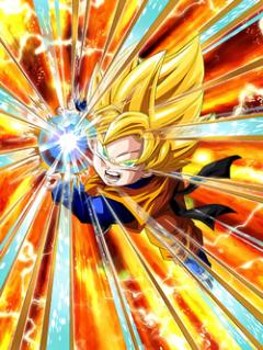 Burgeoning Might Super Saiyan Goten (Kid)