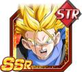 Unshakable Resolution Super Saiyan Trunks (GT)