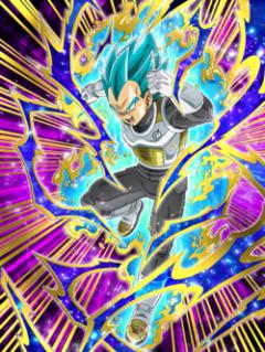 Ascending to Godhood Super Saiyan God SS Vegeta