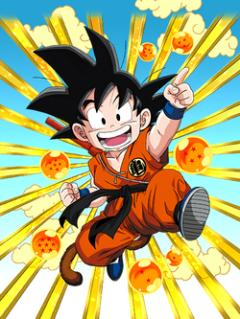 Into the Big Wide World Goku (Youth)