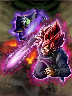 Merciless Condemnation Goku Black (Super Saiyan Ros%C3%A9) %26 Zamasu