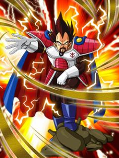 Reign of the Warriors King Vegeta