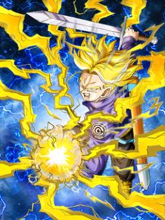Future-Carving Power Super Saiyan Trunks (Teen)