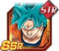 Indomitable Battle Lust Super Saiyan God SS Goku