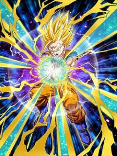 Point-Blank Flash Super Saiyan 2 Gohan (Youth)
