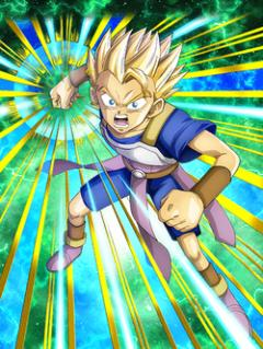 Pride Awakened Super Saiyan Cabba