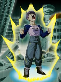 Roar of Sadness and Rage Trunks (Youth) (Future)