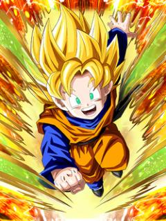 Promising Son Super Saiyan Goten (Kid)