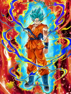 The Paramount Saiyan Super Saiyan God SS Goku