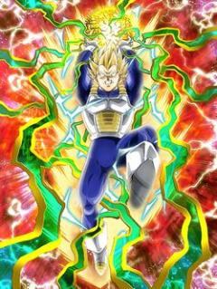 Passion Beyond Pride Super Saiyan 2 Vegeta