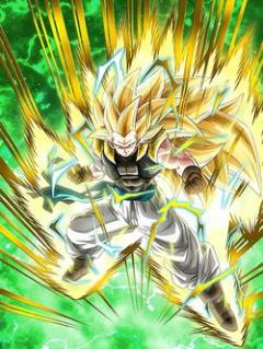 Fiery Fusion Warrior Super Saiyan 3 Gotenks (Teen)