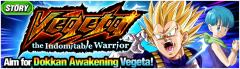 Vegeta the Indomitable Warrior