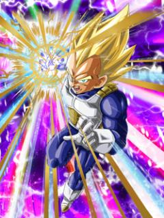 Super Attack Supreme Super Saiyan Vegeta