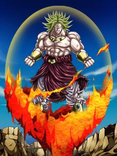 Indestructible Saiyan Evil Legendary Super Saiyan Broly