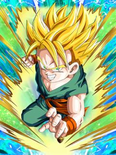 Talented Son Super Saiyan Trunks (Kid)