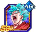 Necessary Evolution Super Saiyan God SS Goku