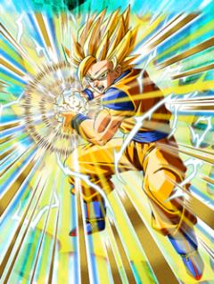 Unlimited Power Super Saiyan 2 Goku