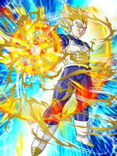 Pride Regained Super Saiyan Vegeta