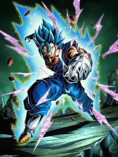 All or Nothing] Super Saiyan God SS Vegito   Dokkan Battle