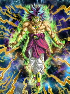 Unleashed Force Super Saiyan Broly