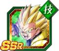 Shining Justice Super Saiyan Gotenks (Teen)