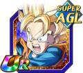 Struggle Beyond All Expectations Super Saiyan Goten (Kid)