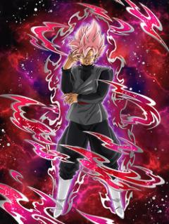Beautiful Grasp Goku Black Super Saiyan Rosé Dokkan Battle Dbz